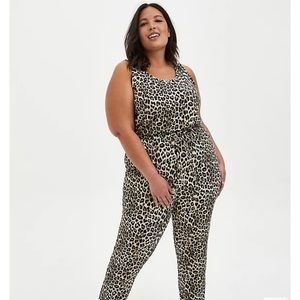 Torrid Leopard Sleep Jumpsuit - 3X